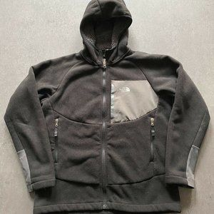 The north face fleece lined jacket boys size Large